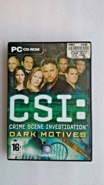 CSI: Crime Scene Investigation: Dark Motives (PC: Windows, 2005)